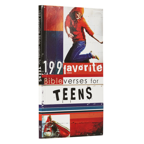 199 Favorite Bible Verses for Teens - SoftCover - FBV004 Christian Art Gifts