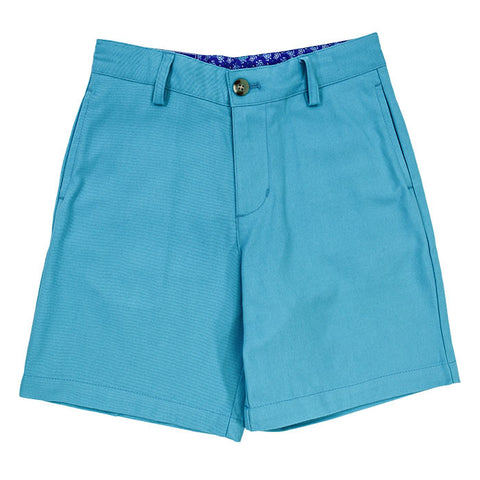 J Bailey Shorts Turquoise Twill
