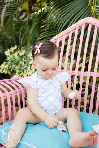 Wendy Onesie in Bamboo Proverbs - Beaufort Bonnet Spring 2019