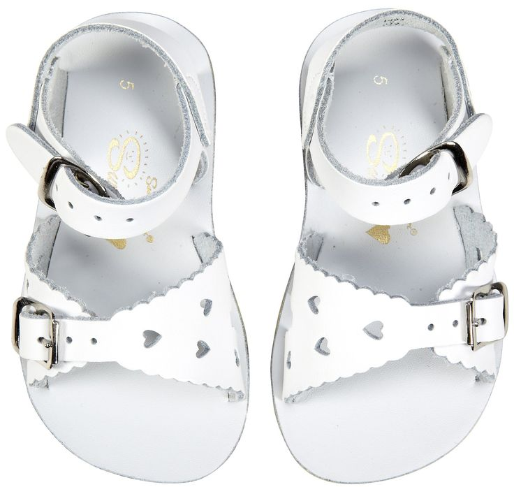 438e1443049 Sun San Sweetheart Salt Water Sandals - WhiteThe Sweetheart Sandal is made  with a soft