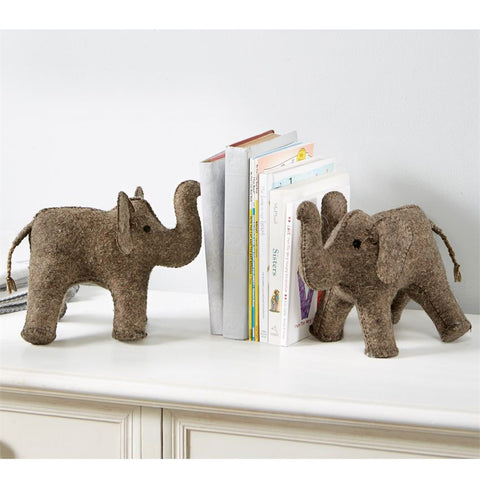 Elephant Bookend - Mud Pie