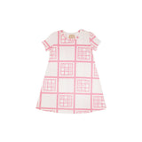 Xs and Os Hampton Hot Pink Polly Play Dress - Beaufort Bonnet
