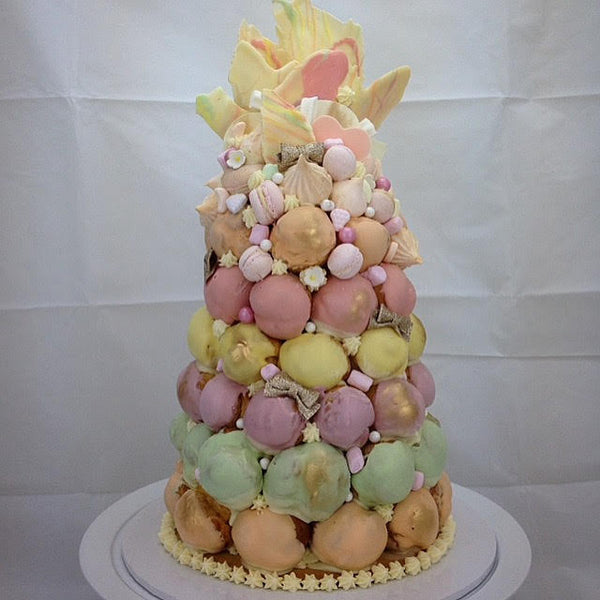 Profiteroles towers & Croquembouche - by Copper and Cocoa