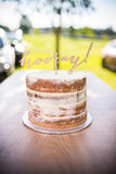 'Hooray' Cake Topper | 1 available