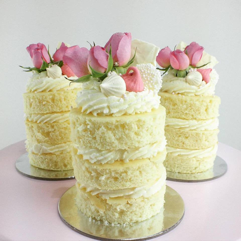 Mini Naked Cakes - By Copper And Cocoa  My Little Peony-2799