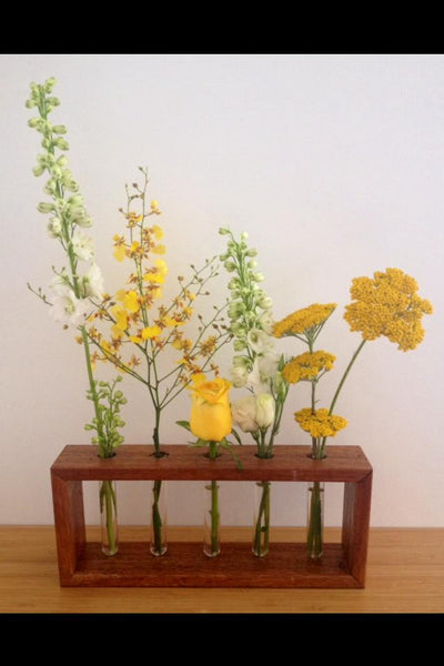 Test tube flower stand | 12 available