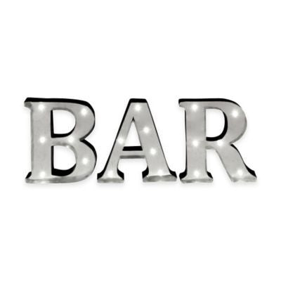 BAR marquee light sign | 1 available