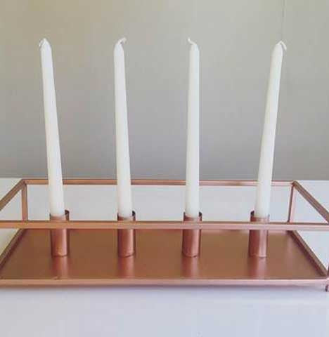 Candle Table Runner