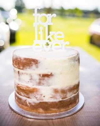 'For Like Ever' Cake Topper | 1 available