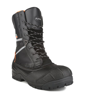 Acton Fighter Construction Boots, Black