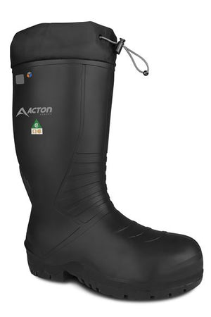 Acton Renegade CSA Rubber Boots, Black