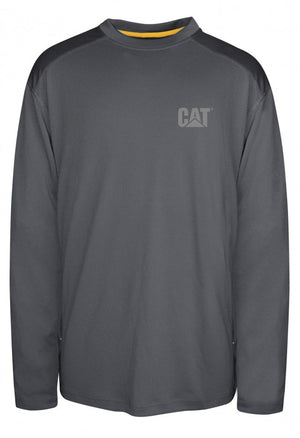CAT Conquest Performance L/S Tee Medium