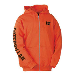 CAT Full Zip Hooded Sweatshirt