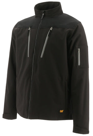 CAT Tracer Soft Shell Jacket, Black
