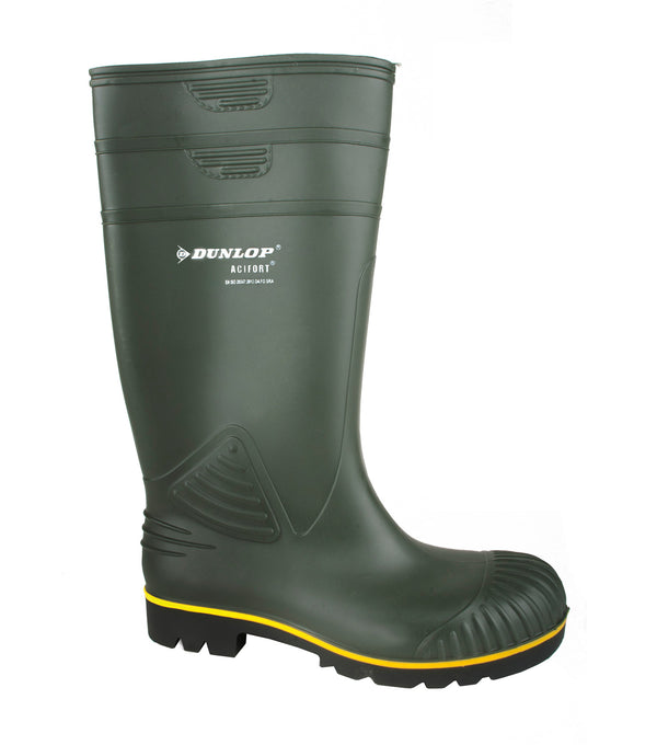 Dunlop Acifort Heavy Duty Boot Green