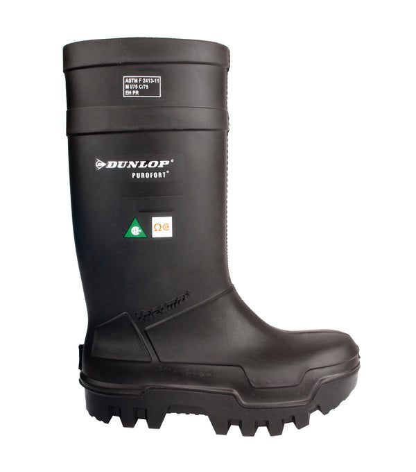 Dunlop Purofort Thermo+Full Safety Boot Black