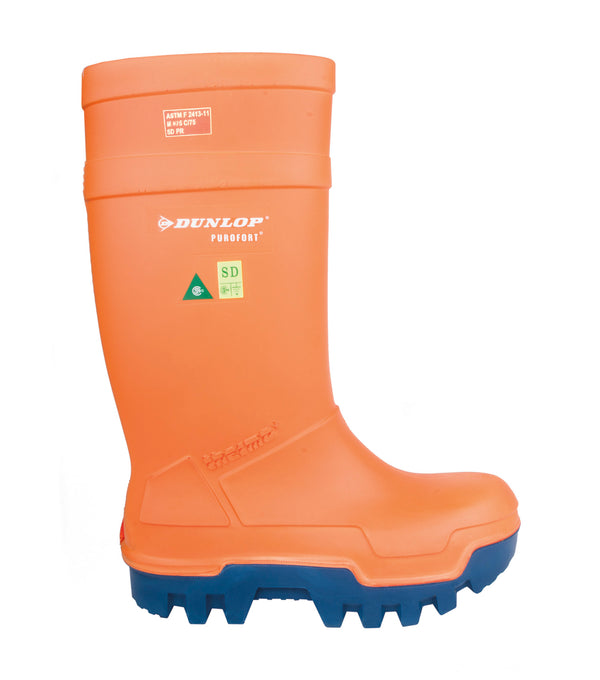 Dunlop Purofort Thermo+Full Safety Boot Orange
