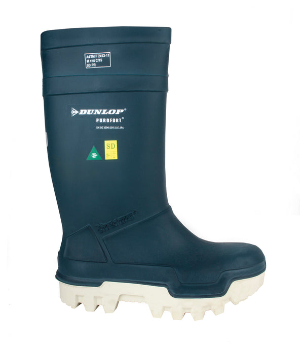 Dunlop Purofort Thermo+Full Safety Boot Blue