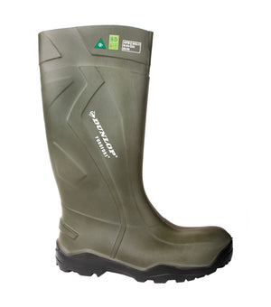 Dunlop Purofort+Full Safety Boot Green 3