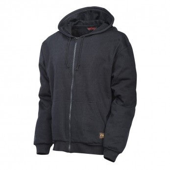 Tough Duck Hoodie without Striping Black