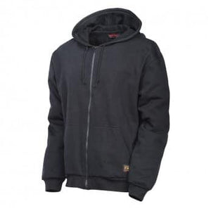 Tough Duck Fr Hoodie without Striping Black