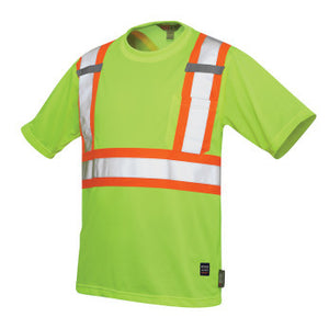 Tough Duck Short Sleeve Safety T-Shirt W/ Pocket