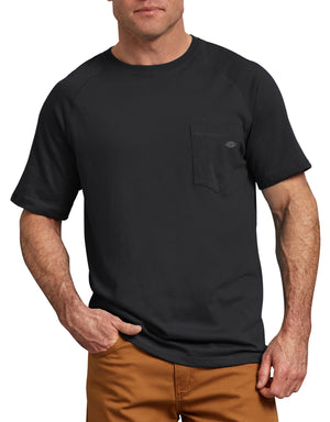 Dickies Short Sleeve Performance Cooling Tee, Black