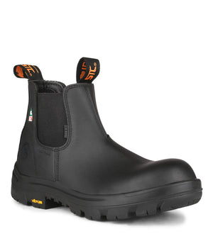 STC Alarm Black Safety Shoes