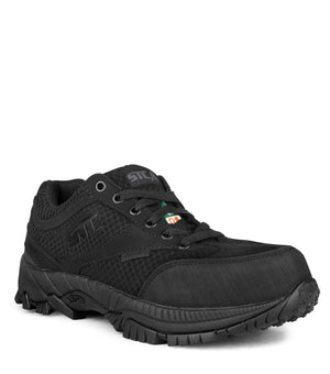 STC Moonlight Safety Shoes, Black