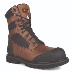 STC Whiskey Jack Construction Boots, Brown