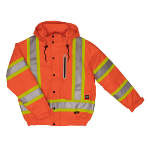 Safety Bomber 300D Waterproof/Breathable Ripstop Jacket