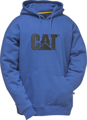 CAT Trademark Hooded Sweatshirt Dark Heather