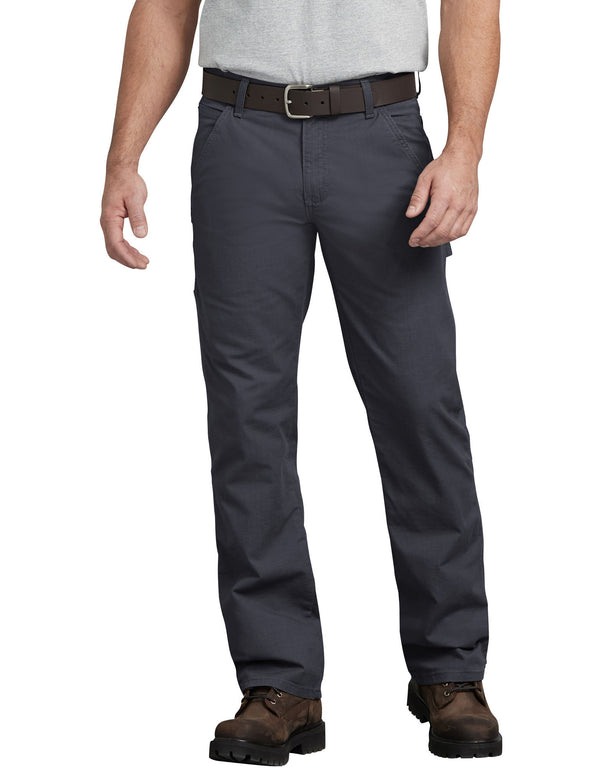 Dickies Ripstop Carpenter Pants, Rinsed Diesel Gray