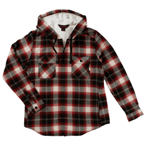 Women's Plush Pile-Lined Flannel