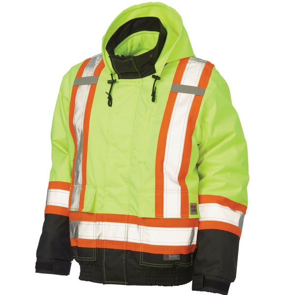 Work King 3-In-1 Safety Bomber Jacket