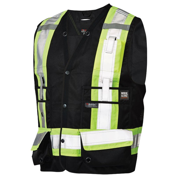 Work King Surveyor Safety Vest