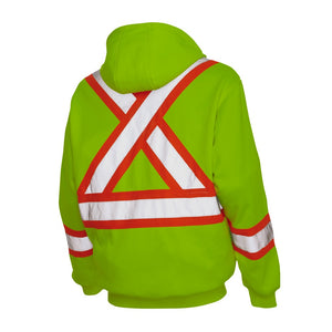 Work King Unlined Safety Hoodie
