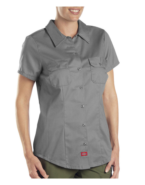 Dickies Short Sleeve Work Shirt Graphite Large