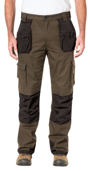 CAT Trademark Trouser Earth/Black
