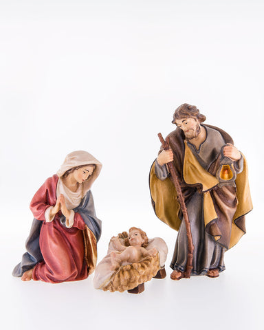 LEPI Nativity Woodcarving, Hand carved Nativity