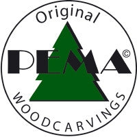PEMA Woodcarvings Logo