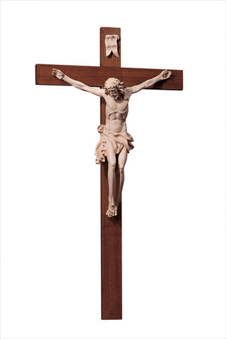 Wooden Crucifix of Boehmen by LEPI Woodcarvings