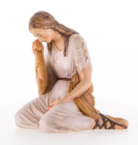 Maria Magdalena at the Cross - Passion Woodcarving