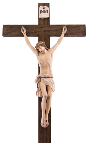 Christ at Calvary - Passion Woodcarving