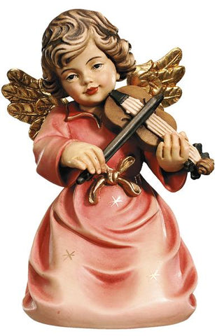 Bell Angel - Kneeling with Violin - Original Glockenengel by PEMA