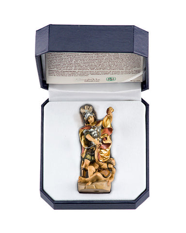 St. Martin - Miniature Woodcarving by LEPI
