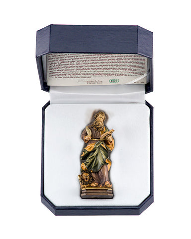 St. Mark - Miniature Woodcarving by LEPI