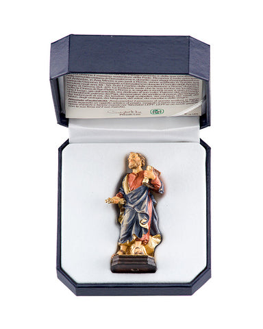 St. Peter - Miniature Woodcarving by LEPI