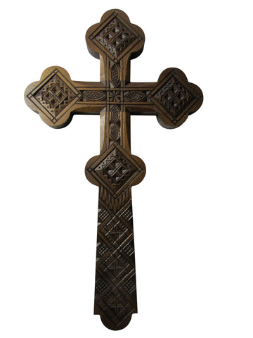 Ornate Ukrainian Wall Cross