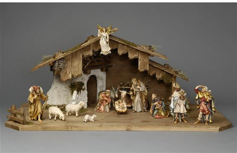 15 Piece Rainell Nativity Set by PEMA Woodcarvings
